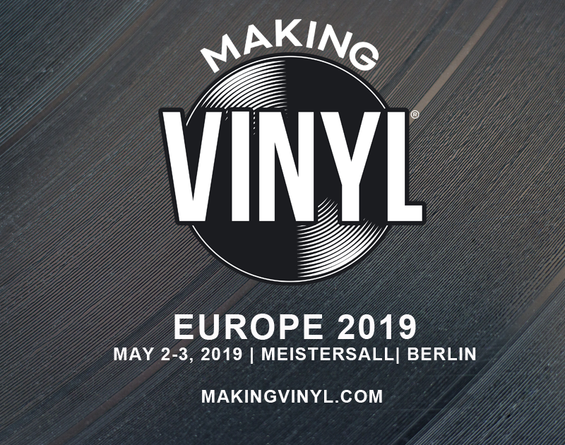 REGISTRATION FOR MAKING VINYL BERLIN IS NOW OPEN